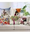 Cinq Gloria Agostina oreiller couverture de toile mondiale