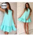 Simple ruffle dress