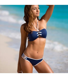 Super Push-up Bikini blau