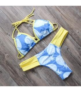 Ananas fresco costumi da bagno bikini