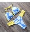 Ananas frisch Bikinibadebekleidung