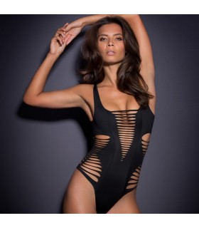 Black super sexy monokini