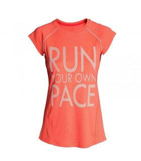 Dry Quick gym t shirt Run your own peace