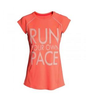T-shirt de gymnastique rapide et sec Exécutez votre propre paix