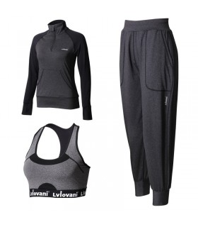 Yoga set 3 pcs breathable sport