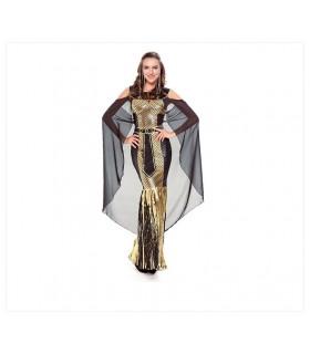Costume Cleopatra d'oro
