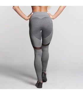 Pantalon de gym en forme de coeur