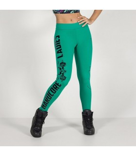 Hardcore Ladies fitness  green leggings