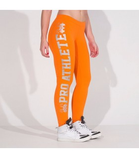 Jambières orange de fitness Pro Athletics