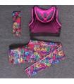 Women workout colored sportswear