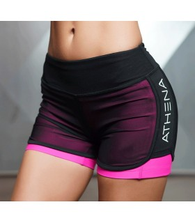 Workout aktive kurze rosa Hose