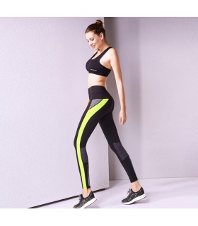 Yoga courir des pantalons élastiques de fitness