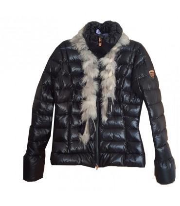 the latest 1fd8f 9978f Giubbotto sottile di qualità con pelliccia e lana Rossignol