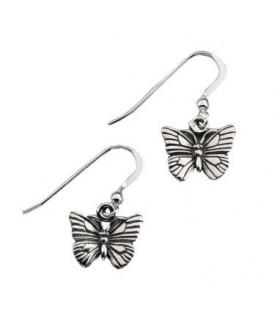 Farfalla in argento orecchini