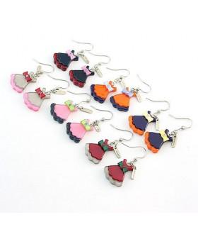 Modern style dress earrings
