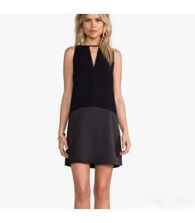 Silk modern dress