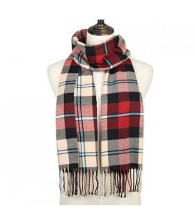 Plaid soft shawl
