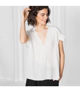 Silk modern top