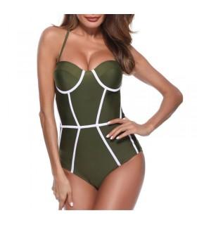 Hot vintage straight beachwear bathing suit