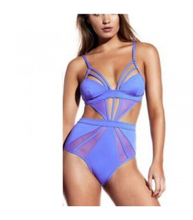 Padded sexy one piece bandage swimsuit