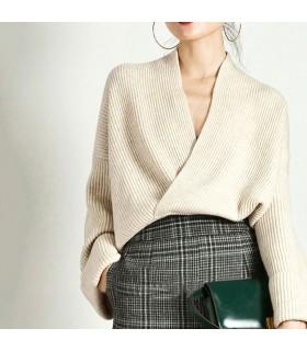 Elegante maglione lavorato a maglia