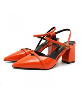 Chaussures magnifiques coraux de luxe