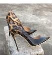 Chaussures léopard de mode moderne