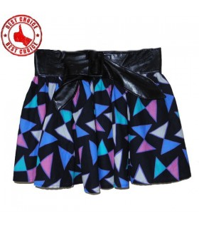 Geometric fashion skirt