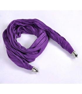 Weicher Baumwollschal in lila