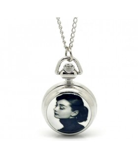 Audrey Hepburn watch necklace