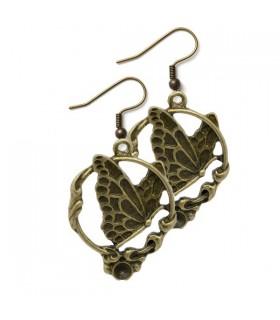 Battenti di bronzo farfalla