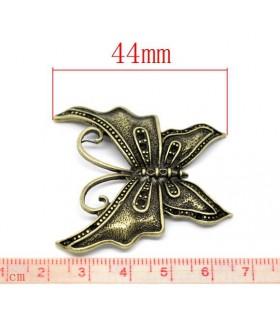 Antique Halskette mit Schmetterlinganhänger