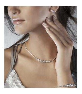 Ensemble de bijoux avec strass