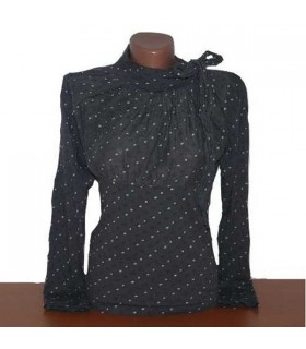 Chic italien style blouse manches longues