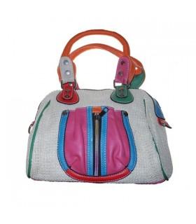 Modische Tasche in Regenbogenfarben