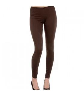 Braune Leggings aus Baumwolle