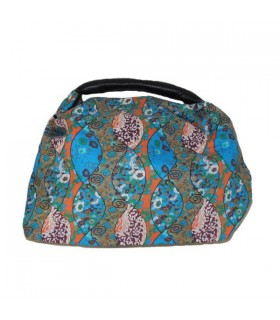 Leisure floral colored handbag