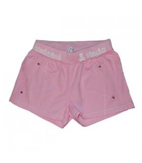Shorts roses de sport pour des femmes