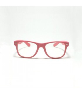 Retro framed pink sunglasses
