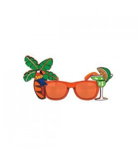80's Flamingo Cocktail Sunglasses
