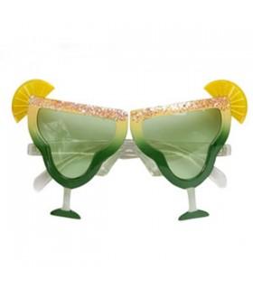 Lunettes de soleil de soirée cocktail