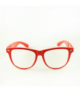 Retro framed red sunglasses
