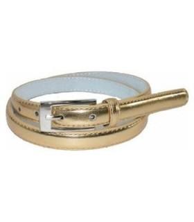 Dünner Gürtel in gold
