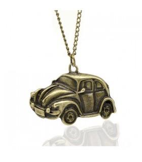 Collana antico bronzo auto d'epoca