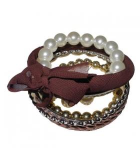 Bangles multi bracelets pearls