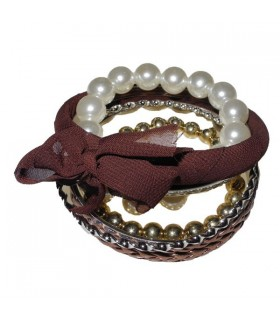 Schiave multi bracciali perle