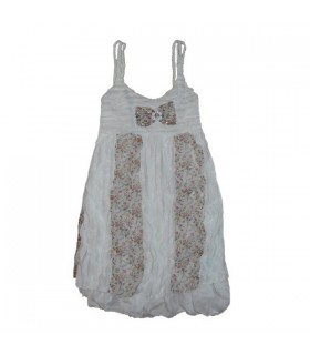 Süßes blumige Chiffon-Kleid