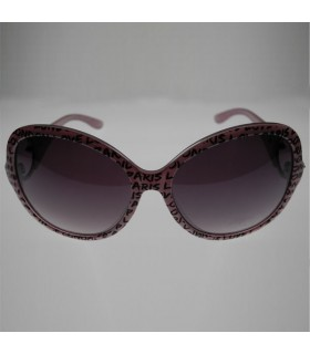 Pink fashion frames sunglasses