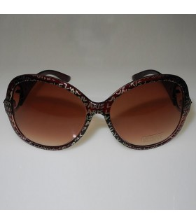 Brown fashion frames sunglasses