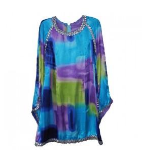 Strahlendes langarm Kleid